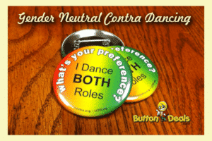 Contra Dancing Buttons