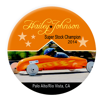 Soap Box Derby Buttons